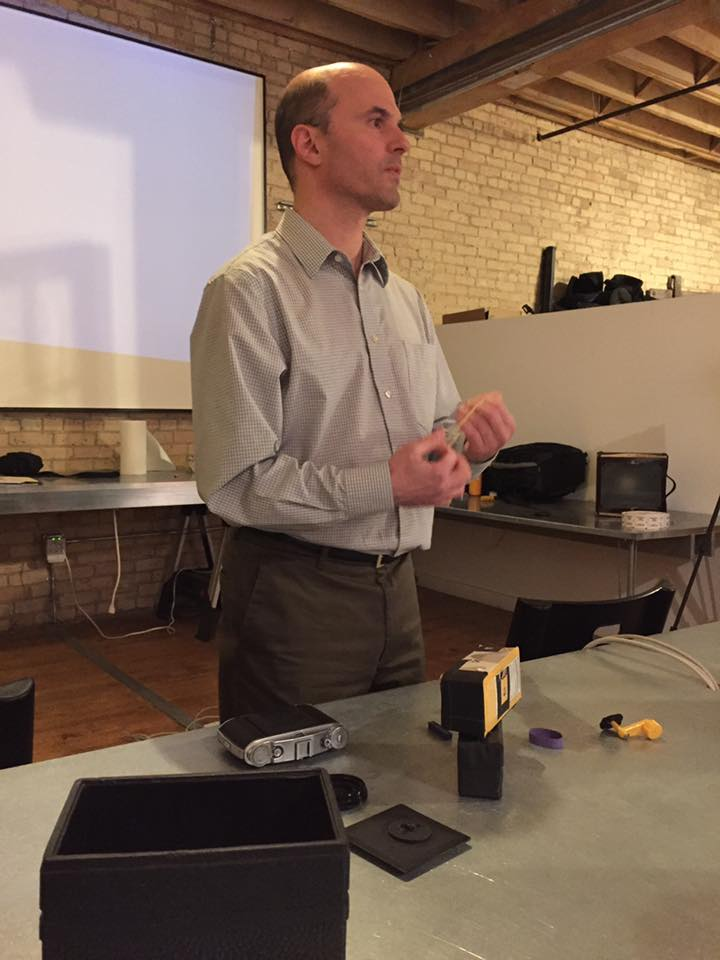 Pinhole Photography presentation at the Mpls Photo Center