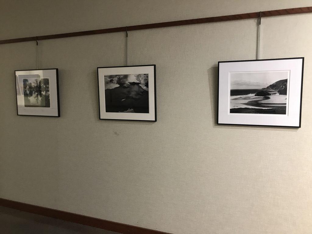 black and white landscape photographs