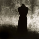 pinhole photograph of abstract figure